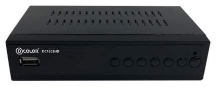 DVB-T2 приставка D-Color DC1602HD Black