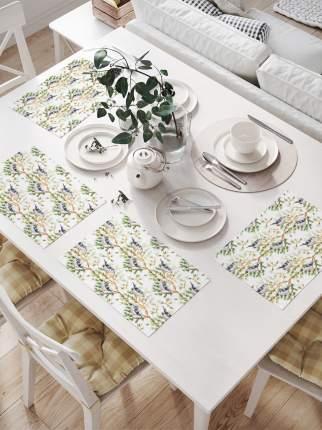 JoyArty Комплект салфеток для сервировки стола «Птицы на ветке» (32х46 см, 4 шт.)