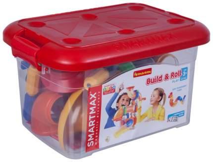 Магнитный конструктор SmartMax/ Bondibon, набор Собирай и запускай, 44 дет., арт. SMX 909.