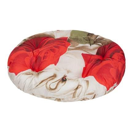 Лежак для собак и кошек Xody Овальный Эконом №1, цвета в ассортименте, 40х34 см