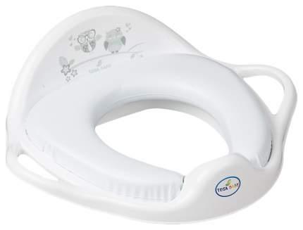 ТЕГА Мягкая накладка на унитаз OWL (СОВЫ) белый SO-020-103
