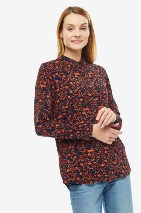 Рубашка женская ICHI 110282 14043 синяя 38 EU