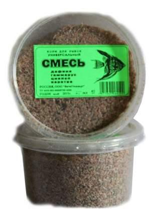 Корм для рыб ВИТА-С Смесь, универсальный, гранулы, хлопья, 150 мл