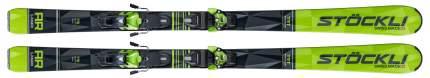 Горные лыжи Stockli Laser AR + DXM 13 2020, green, 182 см