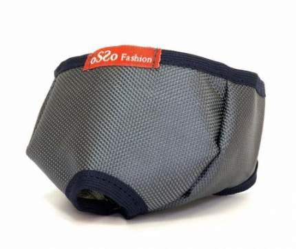 Намордник для кошек OSSO Fashion, серый, M, вес кошки от 4 до 6 кг