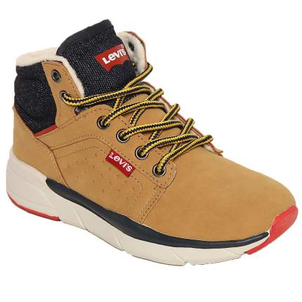 Ботинки Levi's Kids 56418 желтые, размер 28