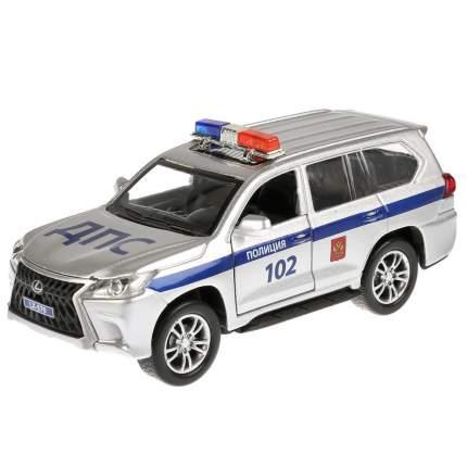 Машина Технопарк Lexus LX-570 Полиция 12 см
