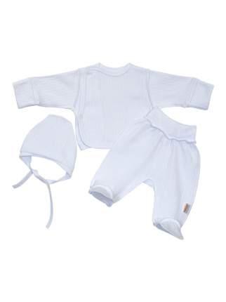 Комплект для новорожденных Желтый кот р.62 белый