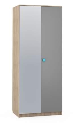 Платяной шкаф Mobi Доминика 451 7124002 90х60х218, бук песочный