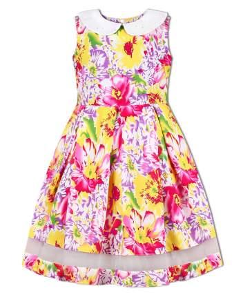 Молочное платье Радуга Дети 82733-ДЛ18,  размер 110