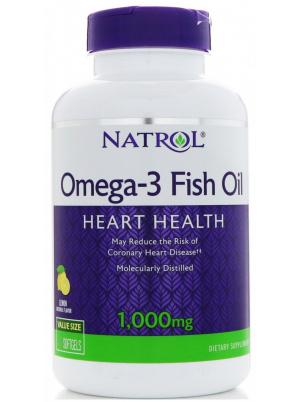 Natrol Omega-3 Fish Oil 1000mg 60caps (60 капс.)
