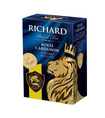 Чай Richard Royal Cardamom черный листовой с добавками 90 г
