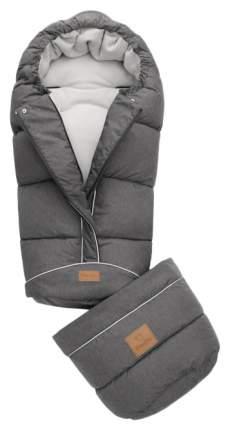 Муфта для ног Mansita Transform Plus, цв.черный меланж