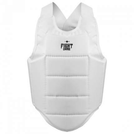 Жилет защитный FIGHT EMPIRE, размер XL, цвет белый FIGHT EMPIRE