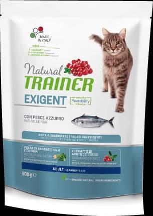 Сухой корм Trainer Natural Exigent Cat для привередливых кошек (300 г, Океаническая рыба)