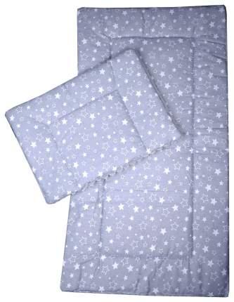 Комплект в коляску Bambola, матрасик, подушка (цвет: серый)