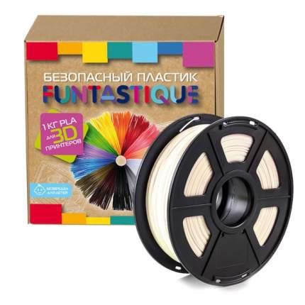 Пластик для 3D-принтера Funtastique PLA-1KG-NC PLA White