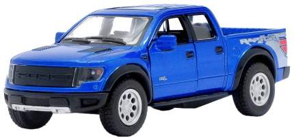 Машина инерционная Kinsmart Ford F-150 SVT Raptor SuperCrew, масштаб 1:46