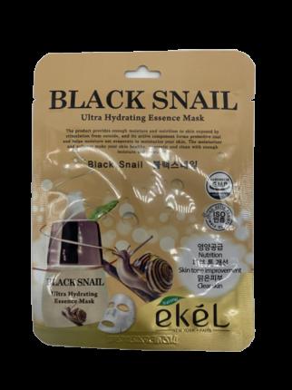 Маска для лица Ekel Ultra Hydrating Essence Mask Black Snail 25 мл
