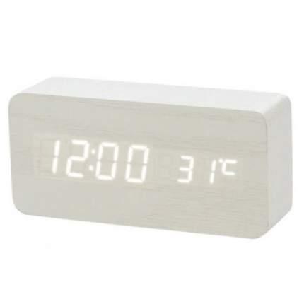 Настольные цифровые часы-будильник VST-862 (белые)