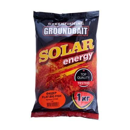 Прикормка Gf Solar Energy Фидер для ловли крупной рыбы, 1 кг, фруктовый
