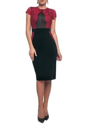 Платье женское Петербургский Швейный Дом 1285-1 черное 52 RU