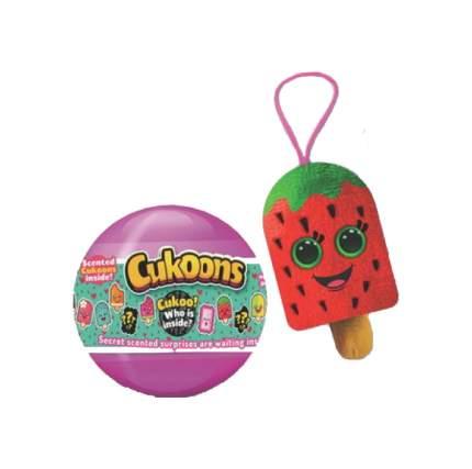 Мягкая игрушка ABtoys Десерты Cukoons в пластиковых шарах 7 см в ассортименте