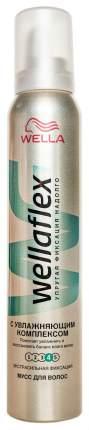 Мусс для волос Wella Wellaflex С увлажняющим комплексом 200 мл