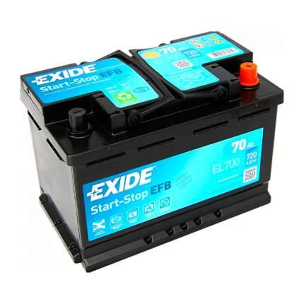 Аккумуляторная Батарея Start-Stop Efb [12v 70ah 720a B13] EXIDE