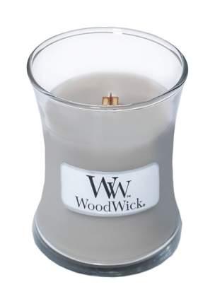 Ароматическая свеча WoodWick Домашний очаг 816-943 Серый