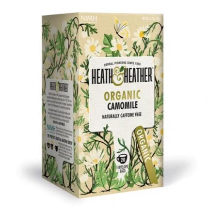Напиток ромашка Heath and Heather органик 20 пакетиков