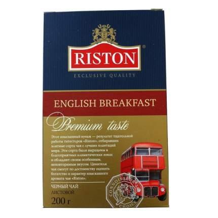 Чай  Riston английский завтрак черный байховый цейлонский 200 г