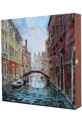 "Ключница ""Venice"" с подрисовкой на раме"