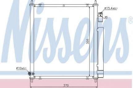 Радиатор кондиционера Nissens 94734