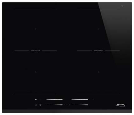 Встраиваемая варочная панель индукционная Smeg SI2M7643B Black