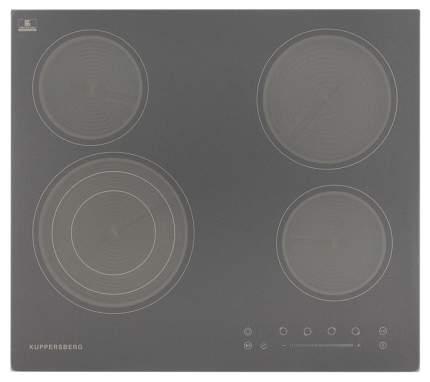 Встраиваемая варочная панель электрическая KUPPERSBERG ECS 603 Gr Grey