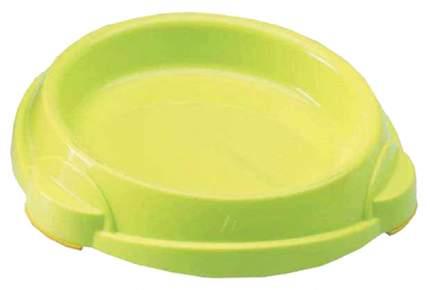Одинарная миска для кошек и собак Savic, пластик, зеленый, 0.25 л