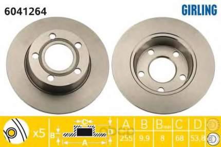 Тормозной диск GIRLING 6041264 задний