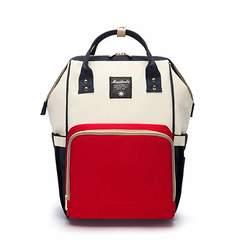 Сумка-рюкзак для мамы Anello синий белый красный