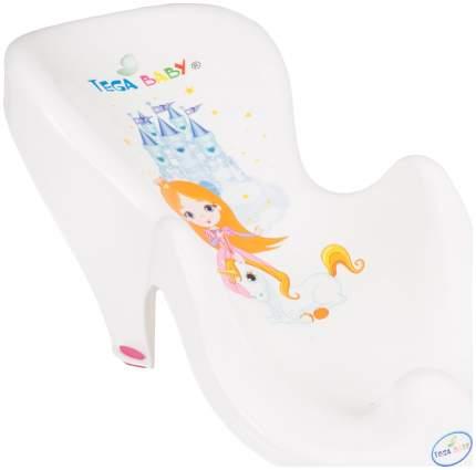 Горка Тега для ванны маленькая принцесса белый