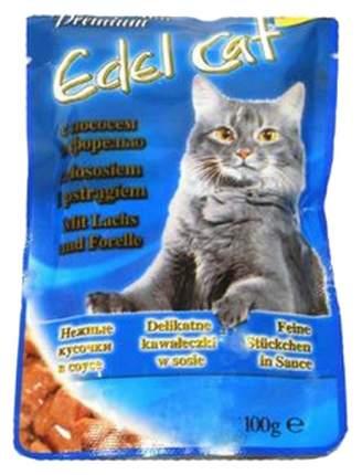Влажный корм для кошек Edel Cat, лосось, рыба, 20шт, 100г