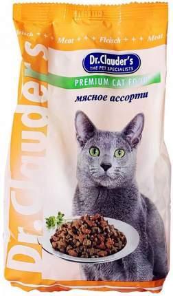 Сухой корм для кошек Dr.Clauder's Premium Cat Food, мясное ассорти, 0,4кг