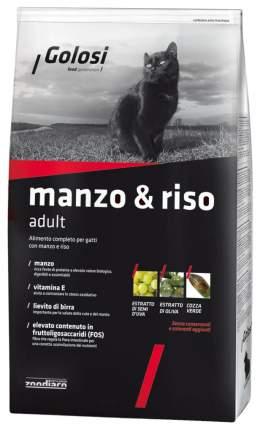 Сухой корм для кошек Golosi Adult, говядина, рис, 20кг