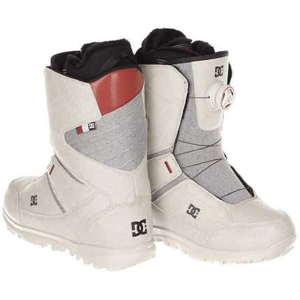 Ботинки для сноуборда DC Search 2018, silver, 24.5