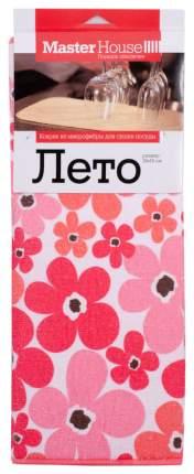 Коврик для сушки посуды MasterHouse 60196 Белый, розовый, красный