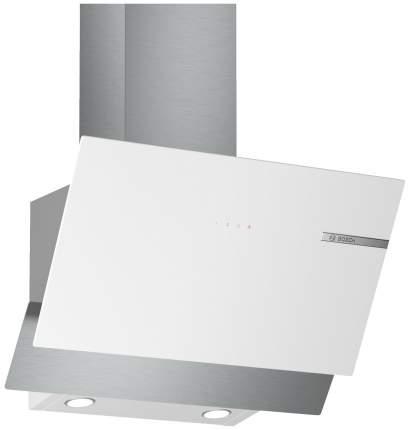 Вытяжка наклонная Bosch DWK65AD20R White