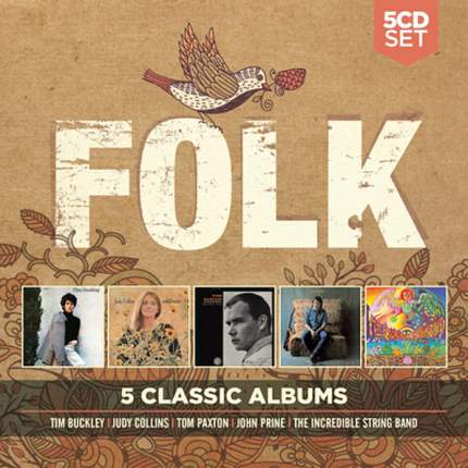 "Аудио диск Various Artists ""5 Classic Albums: Folk"""