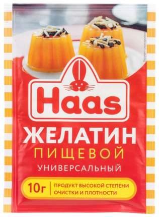 Желатин пищевой Haas универсальный 10 г