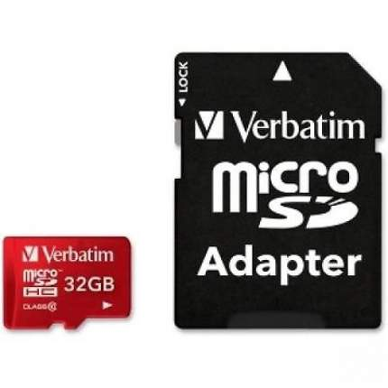 Карта памяти Verbatim Micro SDHC 32GB