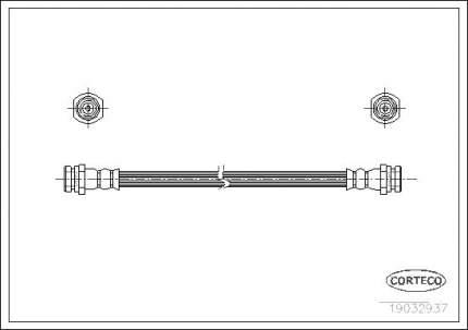 Шланг тормозной системы CORTECO 19032937